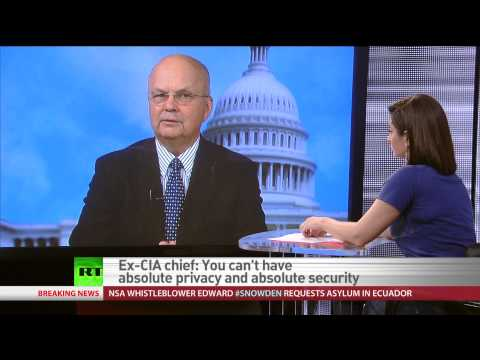 Ex-CIA Chief: Snowden neither hero, nor traitor but very troubled young man