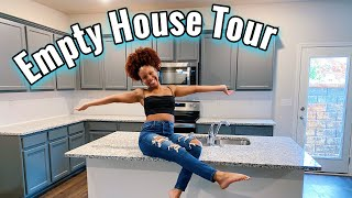 EMPTY HOUSE TOUR | I Bought My First Home!!