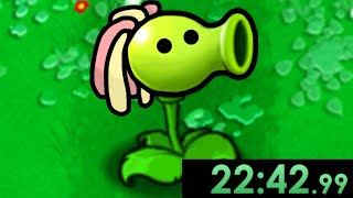 I decided to Speedrun Plants vs Zombies but it was Incredibly Difficult...