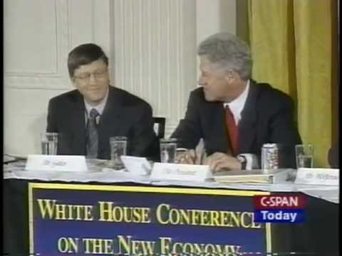 Bill Clinton & Bill Gates on Economic Development and Investments - Technology, Health and Education