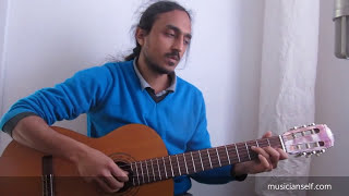 Thendral Vanthu Theendum - Chord Harmony Vocal Guitar Chords Rhythm