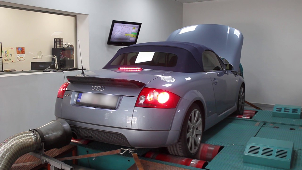 Microchips Tuning Audi Tt 18t Stage1 Remap 227ps Youtube