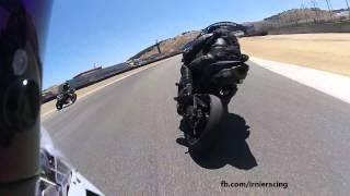 2015 S1000RR - IrnieRacing First Track Test at Laguna Seca