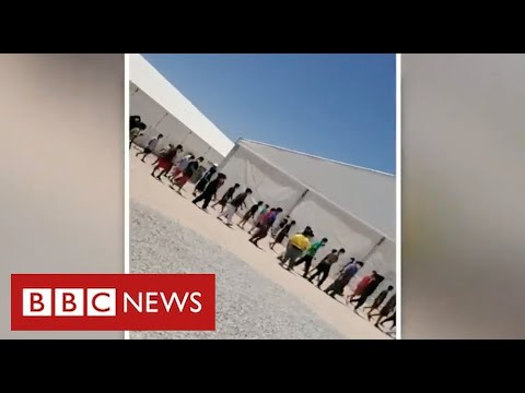 Download Thousands of migrant children detained in Texas in appalling conditions - BBC News