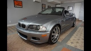 This 2004 BMW E46 M3 Convertible With A Real 6-speed Is All About Brutal Precision