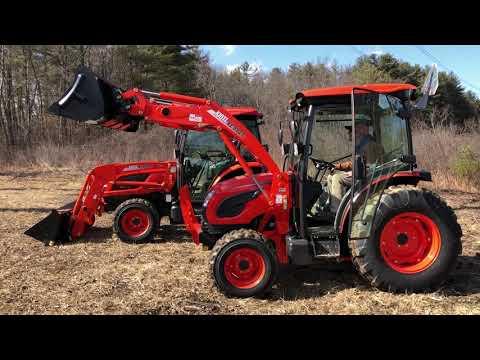 Should You Buy A DK10SE Or NX10 Series Kioti Tractor? - Walkthru NX4510 & DK4710SE