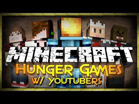 Minecraft Youtuber Event: Hunger Games - In It to Win It!