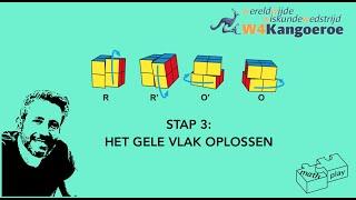 Stap 3: Het gele vlak oplossen
