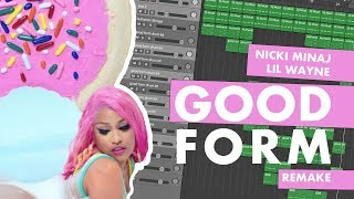 Making a Beat: Nicki Minaj - Good Form ft. Lil Wayne (IAMM Remake) Video