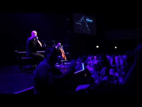 Little Cello Wars announcement at The Piano Guys concert in Chicago - Oct 12, 2013