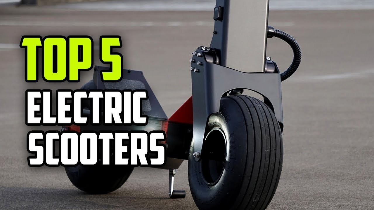 Best Electric Scooters In 2018 Top 5 Rated Scooter