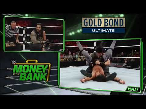 WWE Money In The Bank 19 May 2019 Roman Reigns Vs. Elias Full Match HD Highlights