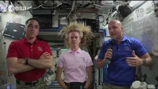 Luca Parmitano and Chris Cassidy explain what happened during EVA 23