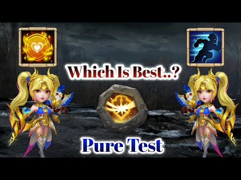 Dove | 9/9 Tenacity Vs 9/9 Stealth | Which Is Best...? | 8 Survival | Pure Test | Castle Clash