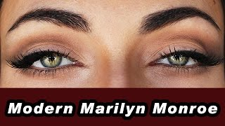 Everyday Soft And Sexy Cat Eye - Modern Marilyn Monroe Makeup Tutorial | MakeupAndArtFreak Mp3