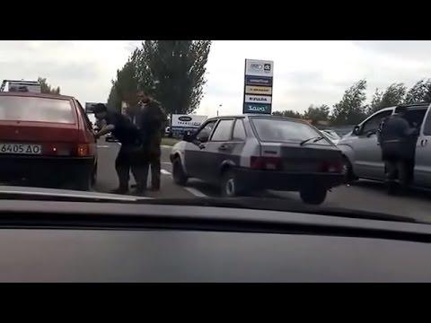 Ukraine War - Kadyrov mercenaries operate at checkpoints in Donetsk Ukraine
