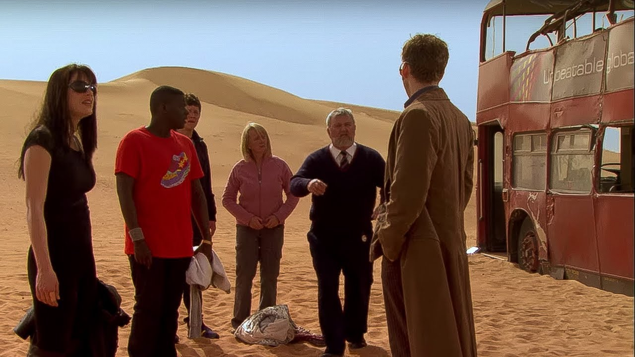 Trapped in the Desert   Planet of the Dead   Doctor Who ...