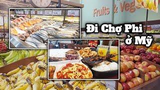 Đi Chợ Phi Luật Tân Ở Mỹ - Sạch Đẹp và Nhiều Thức Ăn Ngon- Filipino Supermarket- Cuộc Sống Mỹ #89