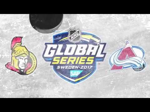 Ottawa Senators VS Colorado Avalanche | GLOBAL SERIES | November 10th 2017  [HIGHLIGHTS]