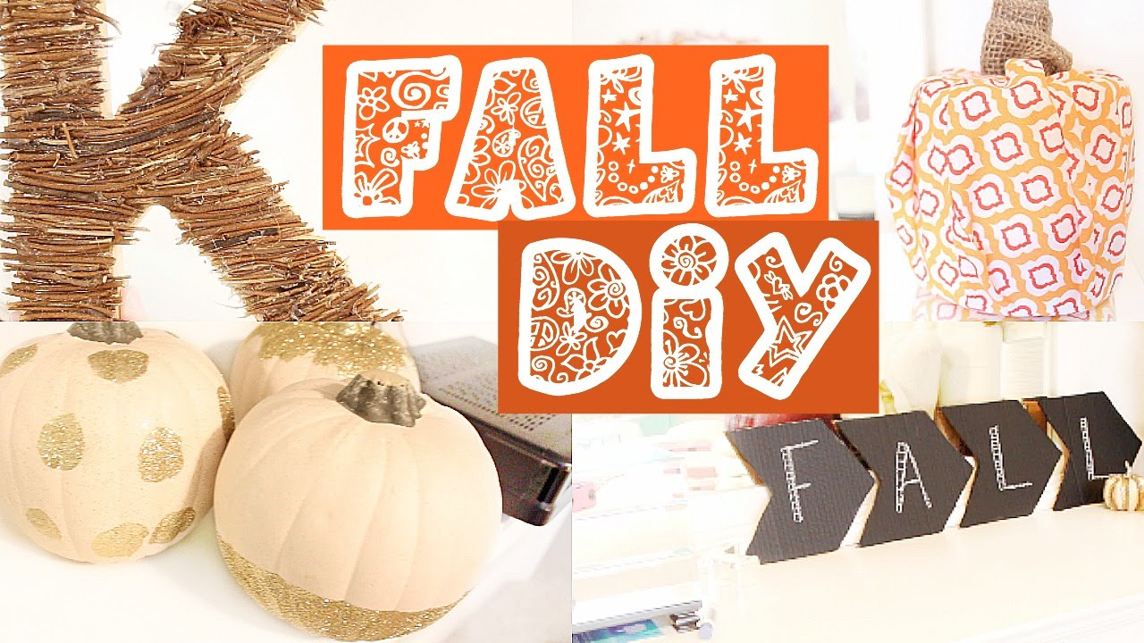 Easy & Cute Fall Halloween DIYS How To Make Your Room Cozy For Fall