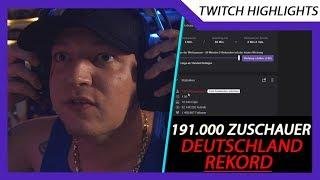 MontanaBlack schreibt Deutsche Twitch Geschichte Zuschauer REKORD Fortnite Turnier Twitch Highlights
