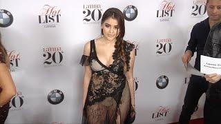 "vuclip Lauren Giraldo Latina's 7th Annual ""Hollywood Hot List"" Red Carpet"