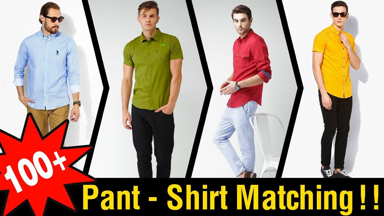 3a1f32d21f9 100+ Men s Perfect Pant Shirt Color Combinations - YouTube