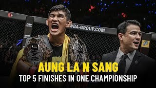 ONE Highlights | Aung La N Sang's Top 5 Finishes