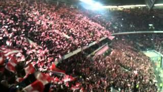 Fortuna Düsseldorf Fans singen
