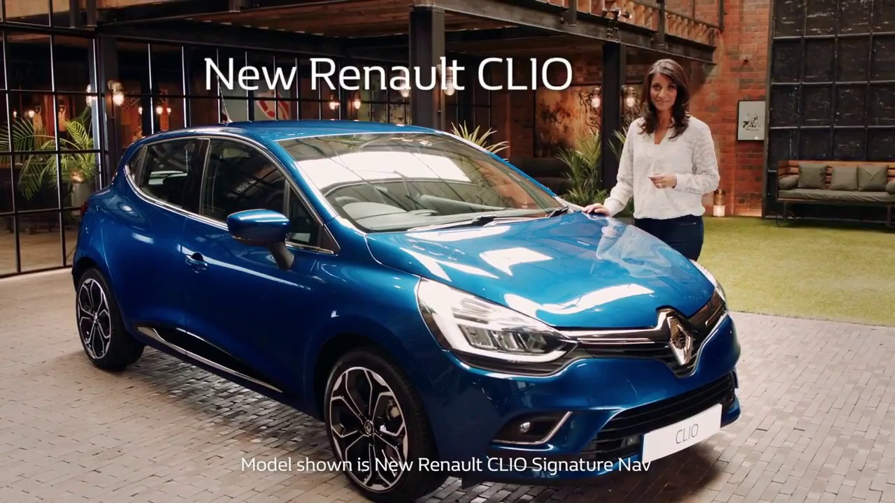 2018 renault clio full review official youtube. Black Bedroom Furniture Sets. Home Design Ideas