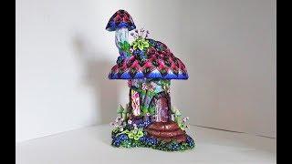 Fairy House, a Polymer Clay tutorial