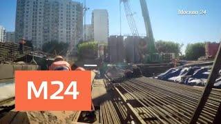 """""""Эволюция Москвы"""": надземный пешеходный переход - Москва 24"""
