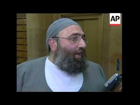 Interview with radical cleric barred from returning to UK