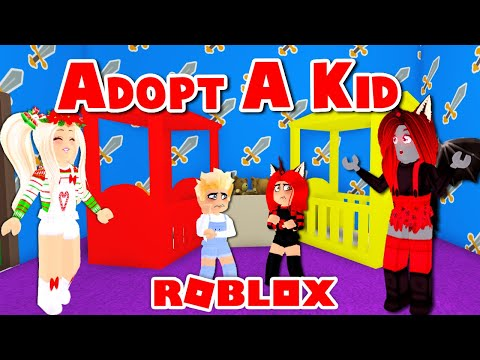 Our Kids Wanted NEW PARENTS So We Made An ADOPTION CENTER For Them! (Roblox)