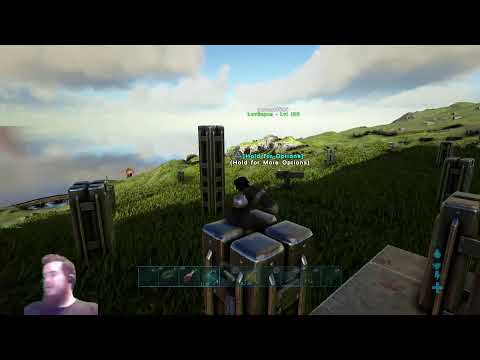ARK SURVIVAL OFFICIAL PVP (ISLAND) RAISING BABY'S ON 255 (RATED18+)(PS4PRO)