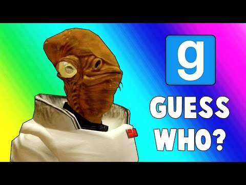 Gmod Guess Who: Star Wars Edition - It's a TRAP! (Garry's Mod)