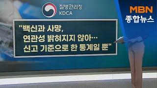 """독감백신 접종 뒤 사망 36명…""""신고 기준 통…"""