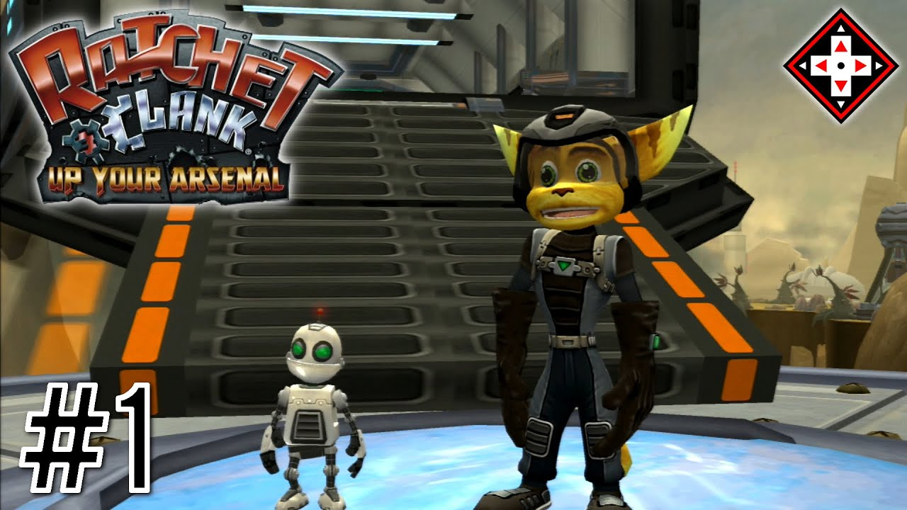 Ratchet Clank Up Your Arsenal Gameplay Part 1 Saving Veldin