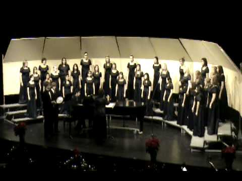 Come Join The Angels Singing - East High Choir Christmas Concert 2008