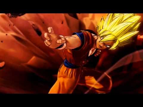 DragonBall Raging Blast 2 Intro with Budokai Tenkaichi 2 Music (Gatebreaker) [720p HD]