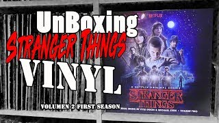 Unboxing!!Stranger Things Vinyl!