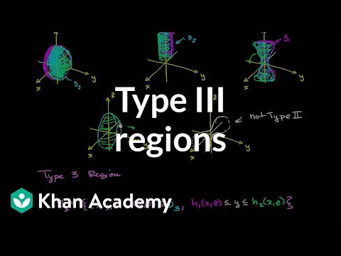 Type III Regions In Three Dimensions | Divergence Theorem | Multivariable Calculus | Khan Academy