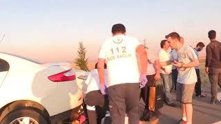 Konya- Ankara Yolu Feci Kaza Anı Kameralara Yansıdı !!!!