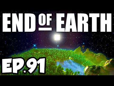 End of Earth: Minecraft Modded Survival Ep.91 - TIER 5 SCHEMATIC!!! (Steve's Galaxy Modpack)