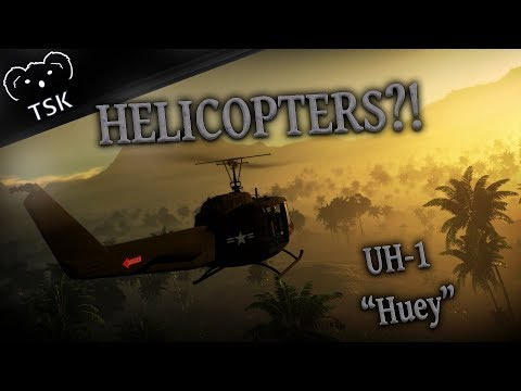 Helicopters in War Thunder?! - User Made UH-1 Huey Gameplay - (Discussion)