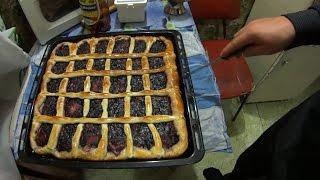 =Хочу Пожрать= Пирог с Ягодами вкусный / Отрезал палец