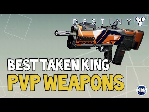 Destiny Best PvP/Crucible Weapons in the Taken King | Best Trials of Osiris Weapons!