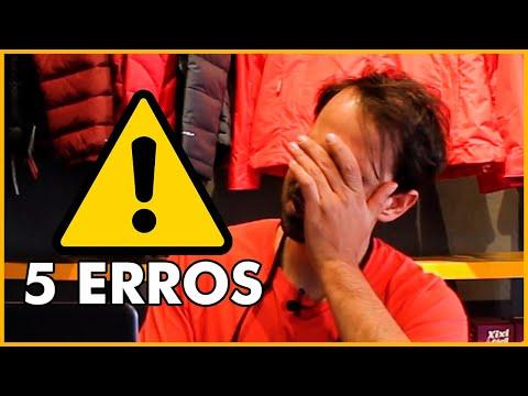 Os 5 ERROS
