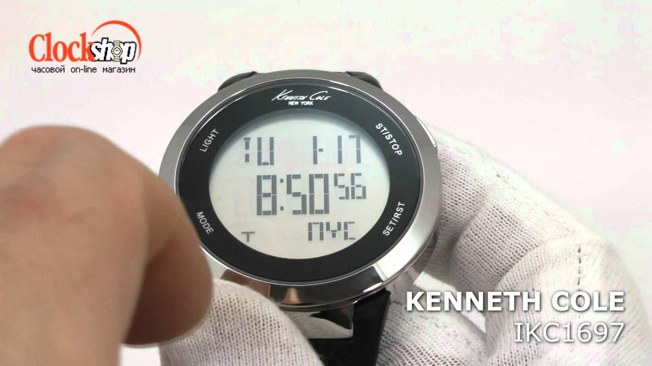 Электронные часы <b>KENNETH COLE</b> с сенсорным экраном IKC1697
