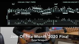 【TAB+Analysis】Jam Of The Month 2020 Final / Ryoya Yamaguchi